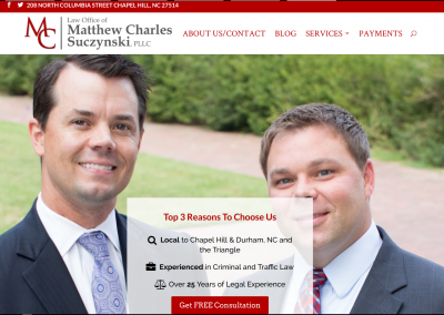 Matthew Charles Law, PLLC – Chapel Hill, NC