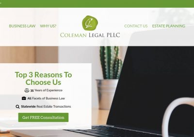 Coleman Legal PLLC – Cary, NC