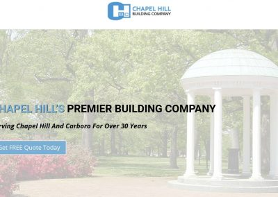 CH Building Co. – Chapel Hill, NC