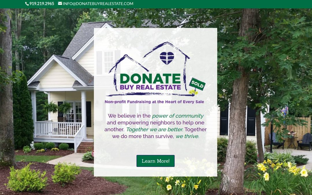Donate Buy Real Estate – Raleigh, NC