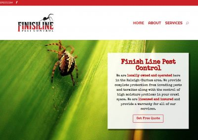 Finishline Pest Control – Durham, NC