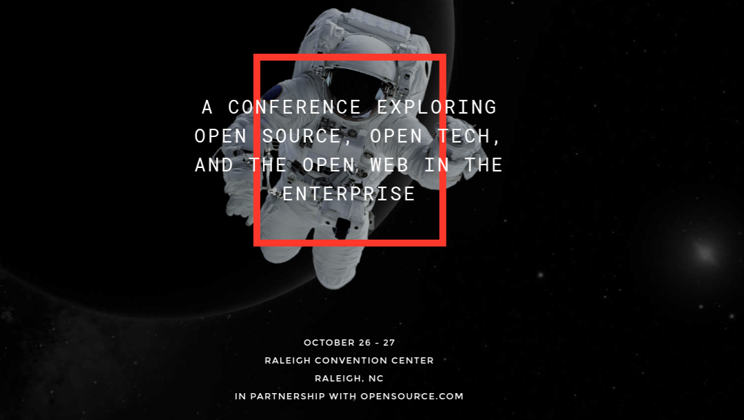 All Things Open – Conference On Open Source Ideas