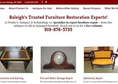 Pender's Antiques – Raleigh, NC